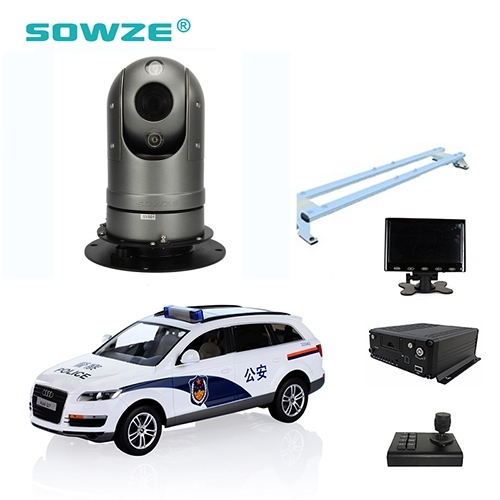 Sell Patrol Vehicle Robotic Surveillance Vehicle PTZ Camera with Powerful Magnet