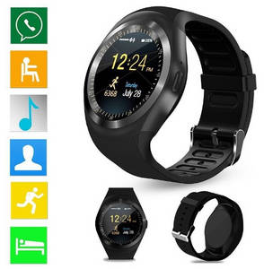 Wholesale android phone: 1.2 IPS Capacitive Touch Screen Smart Watch Android Bluetooth Phone Watch