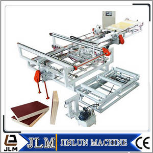 Wholesale woodworking saw: 4'*8/3'*6 Feet Adjustable CNC Automatic Wood Veneer Plywood Trimming Saw and Woodworking Machinery