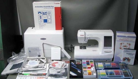 Janome Embroidery 10001 Sewing Machineid6633052 Product Details