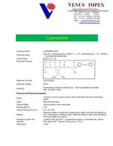 Wholesale Agrochemicals & Pesticides: Cypermethrin , Alphacypermethrin, Tetramethrin, Fenvalerate