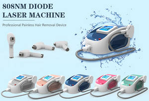 Wholesale laser system: Strong Cooling System Portable 808nm Diode Laser Hair Removal Machine Nubway