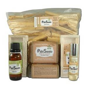 Wholesale sugar infused: Palo Santo Bundle: Essential Oils & Soaps.