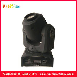 Wholesale led head lamps: LED Mini Moving Head Beam Light RGBW 10w LED Lamp DMX 12channels Dj Light for Bar Home Paty Club Wed