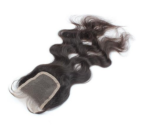 Hot Sale 12 Inch 3.5*4 Hair Closure with Hair Bundles