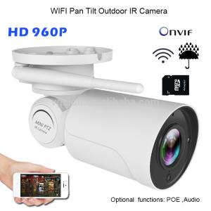 Wholesale wireless network card: IP66 Outdoor Pan Tilt WIFI IR Camera IR Distance 30 Meters 3.6 Mm Lens