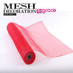 Wholesale poly mesh: Poly Deco Wrapping Mesh for Making Artificial Flower Bouquet