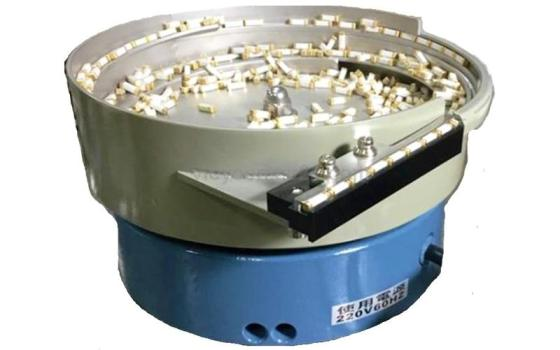 Stainless Steel Vibratory Bowl Feeder for Fuse Components