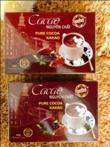 Wholesale cocoa powder: Sell PURE COCOA POWDER - 200g/Box - Viet Deli Coffee Co., Ltd