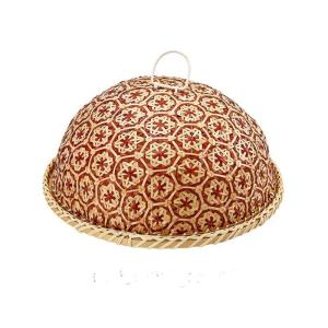 Wholesale bamboo string: Vietnam Bamboo String Fruit Basket with Bamboo Cover Serving Tray with Bamboo Food Cover