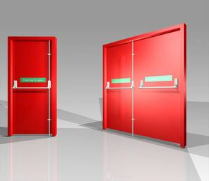 Wholesale steel: Fire Rated Doors and Steel Door