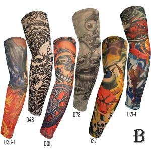 Wholesale mix hip hop: Flexible Quick Dry Breathable Anti-sun Outdoor Sport Cycling Tatoo Sleeve