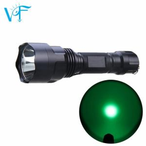 Wholesale cree led light: C8Q5 250lm Long Range CREE Q5 Green/Red LED Hunting LED Light Blue LED Blood Tracking Flashlight
