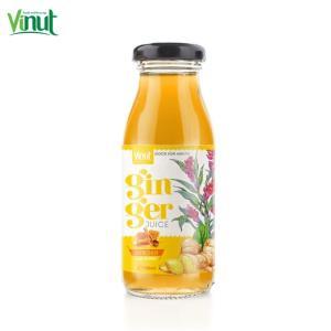 Wholesale ginger: 180ml VINUT Healthy Drink Ginger with Honey Juice