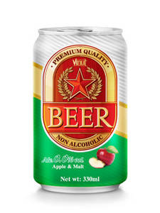 Wholesale beer: Premium Quality Non Alcoholic Beer- Apple Malt