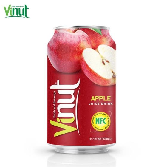 330ml VINUT Canned Apple Juice Drink