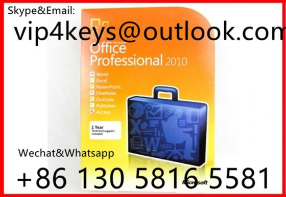 Sell Microsoft Office 2010 Professional OEM 32/64 DVD English Packaging Online