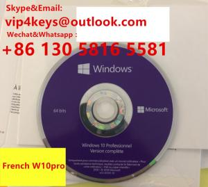 Wholesale packaging boxes: Wholesale Windows 10 Professional OEM DVD Box WIN10 Pro OEM DVD Box DVD 64 Bit Package High Quality
