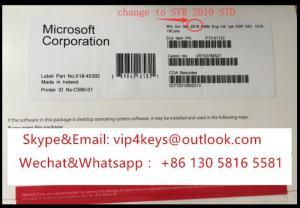 Wholesale core bit: Microsoft Windows Server 2019 DATACENTER 64BIT 2 CPU 16 CORES Unlimited VMs