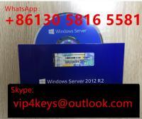 New Coa Sticker OEM DVD 64 Bit Win Server 2012 R2 Enterprise Datacenter Full Version 5CAL