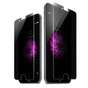 Wholesale privacy screen: 2 Way Privacy Tempered Glass Screen Protector for Iphone 6