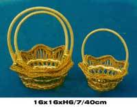 Wholesale baskets: New Design 2017 Fern Bamboo Basket
