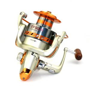 Wholesale Fishing: Big 8000 Fishing Reel 12BB UMOSHI Fishing Reel Alumiinum Spool Jigging Spinning Fishing Reel