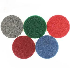 Wholesale polishing pads: 5'' Pad Non-scratch Polishing Nylon Scouring Pad