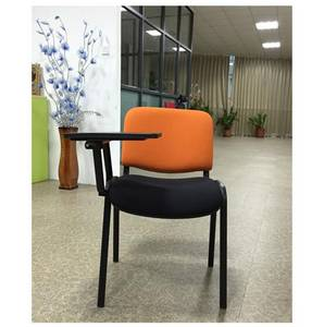 Wholesale training chair: School Student Chair/ISO/Training/Conference/Fabric Office Chair with Writing Pad