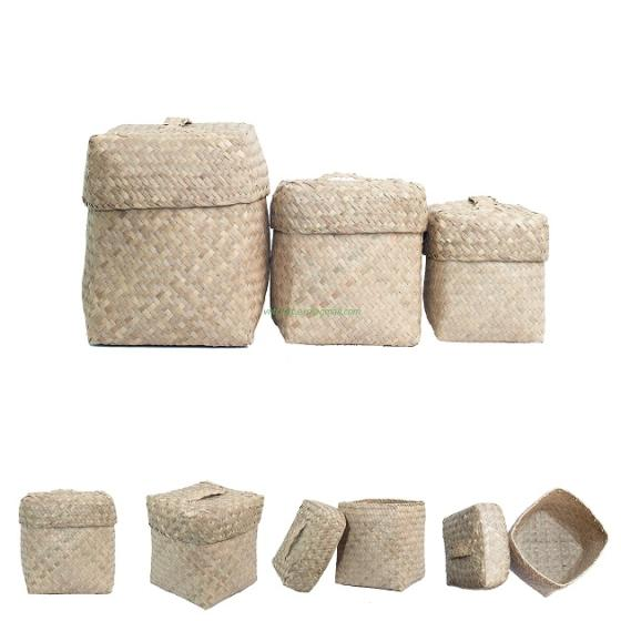 Sell SEAGRASS BOX SET OF 3PCS FROM VIETNAM