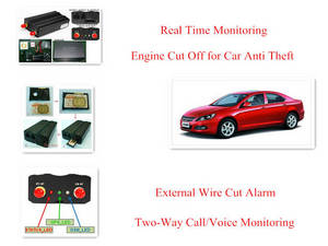 Wholesale 3g gps tracker: Anti Theft Car GPS Tracker (3G Network,Two-Way Call,Voice Monitor,Engine Cut Off)