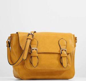 Wholesale back pocket zipper: Classic PU Messenger Bag Shoulder Bag