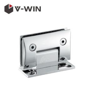Wholesale hinge: Hot Sell 90 Degree T Shape Glass Door Hinge VW-ZAGC-301