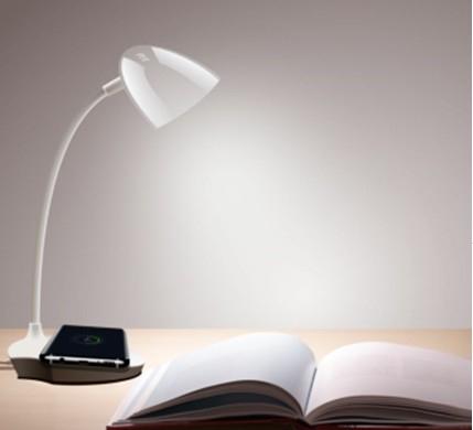 Sell D10  wireless charging intelligent desk lamp