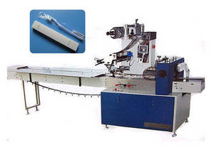 Wholesale wrapper automatic wrapping machine: Toothbrush and Paste in Horizontal Flow Wrapper