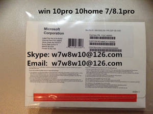 Wholesale win10 pro key: Windows WIN10 Pro OEM DVD Package W 7 8.1 10 Genuine Coa Sticker Key