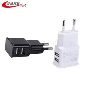 Wholesale charger for mobile phone: 2 USB Port 5V2.1A Mobile Phone Charger, Travel Charger Adapter for Samsung S9