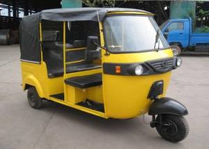 Wholesale Tricycles: Three Wheels Tricycle(Bajaj) for Passengers(JH205ZK)