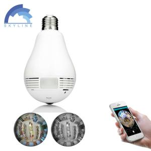 Wholesale surveillance camera: New Arrival Wireless Home Security Surveillance Camera 1080P Bulb Light Mini Wifi Camera