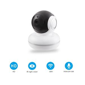 Wholesale home security camera: Tuya Baby Monitor Night Vision Smart Indoor Home Security Camera 1080P