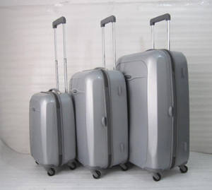 Wholesale pc film: TT3425 20/24/28 Inch ABS+PC Film 4W Trolley Case
