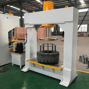 Wholesale tyre mould: 100T 120T 160T Hydraulic Forklift Solid Tire Press Machine for Tyre Changer