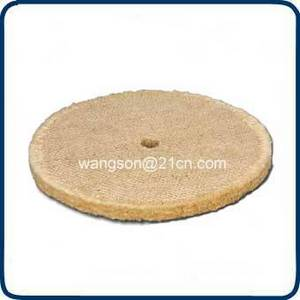 Wholesale sisal polishing buffs mops: Pure sisal disc buff