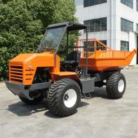 4WD Palm Garden Articulated Transporter Tractor 3