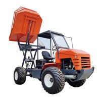 4WD Palm Garden Articulated Transporter Tractor 5