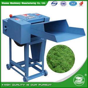 Wholesale mechanical grain dryer: WANMA0015  Silage Straw Crusher Machine Hay Chaff Cutter