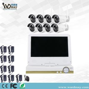 Wholesale parking disk: 8CHS WIFI NVR System with 10.1 Inch LCD Screen From Wardmay Professional CCTV Camera Suppliers