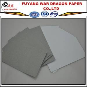 Wholesale Duplex Board: Zhejiang War Dragon Paper Co.,LTD