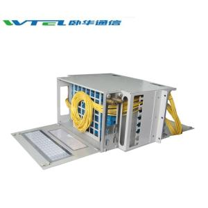 Wholesale optical frames: W-TEL Optical Fiber Distribution Frame 12F 24F 48F 96F 144F 256F ODF