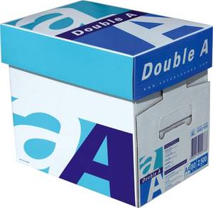Wholesale packing box: Double A Copy Paper A4 80 GSM